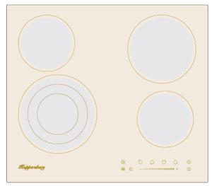 Электрическая варочная поверхность Kuppersberg ECS 603 C бежевый