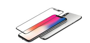 """Стекло защитное MOCOLL, закаленное 3D MIX для iPhone X/XS 3D (серия """"PEARL"""") Черный"""