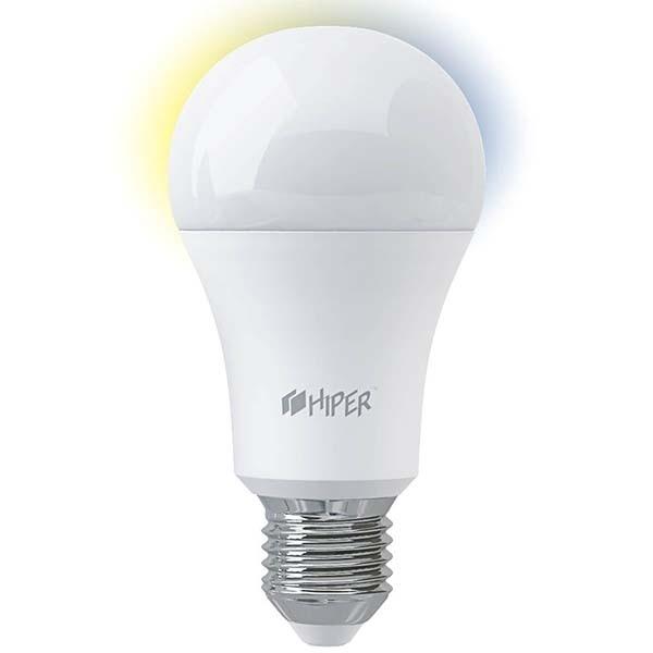 Лампа светодиодная HIPER IoT A61 White, E27, A60, 11Вт