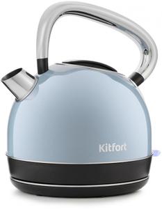Чайник электрический Kitfort КТ-696-2 голубой