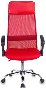 Кресло для руководителя Бюрократ KB-6N красный