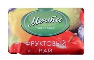 Мыло ФРУКТОВЫЙ РАЙ 90гр Мечта