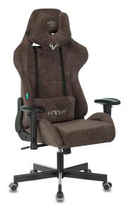Кресло игровое Бюрократ VIKING KNIGHT Fabric коричневый