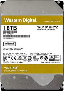 Жесткий диск Western Digital [WD181KRYZ] Gold 18 ТБ