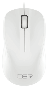 Мышь проводная CBR CM 131 белый