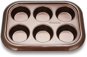 Форма для выпечки Fissman 29,4x21x3,5см коричневый