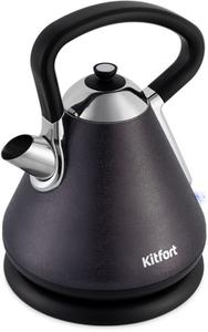 Чайник электрический Kitfort КТ-697-1 черный