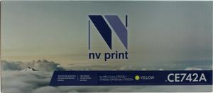 Картридж NV-Print CE742A