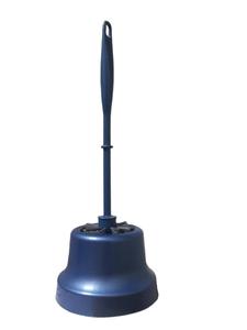 Комплект WC Classic Синий металлик Хозяюшка