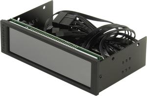 "Контроллер Thermaltake < AC-010-B51NAN-A1 > Commander FT (5.25""панель, 5-ch Fan speed controller, 5.5""touch screen)"