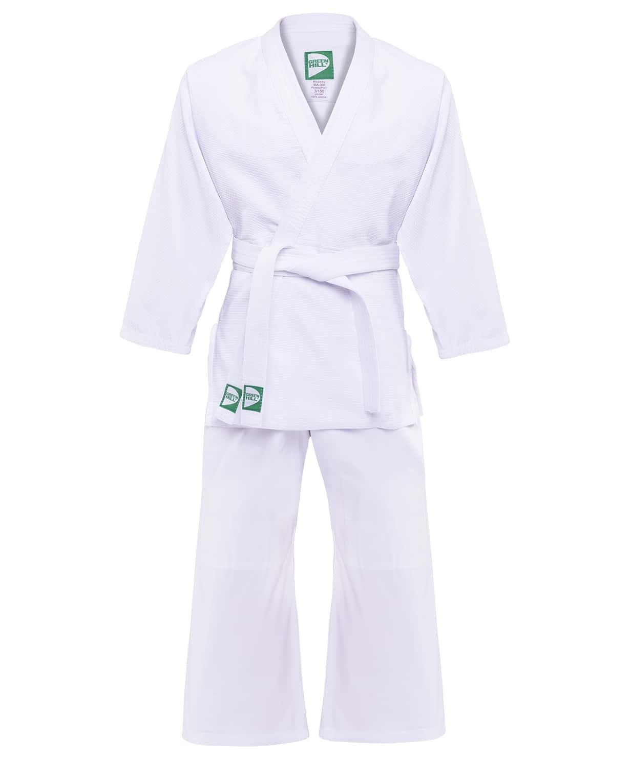 Кимоно для дзюдо MA-301 белый, р.2/150