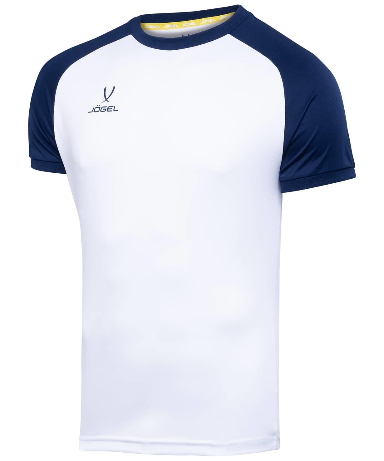 Футболка футбольная CAMP Reglan JFT-1021-019, белый/темно-синий