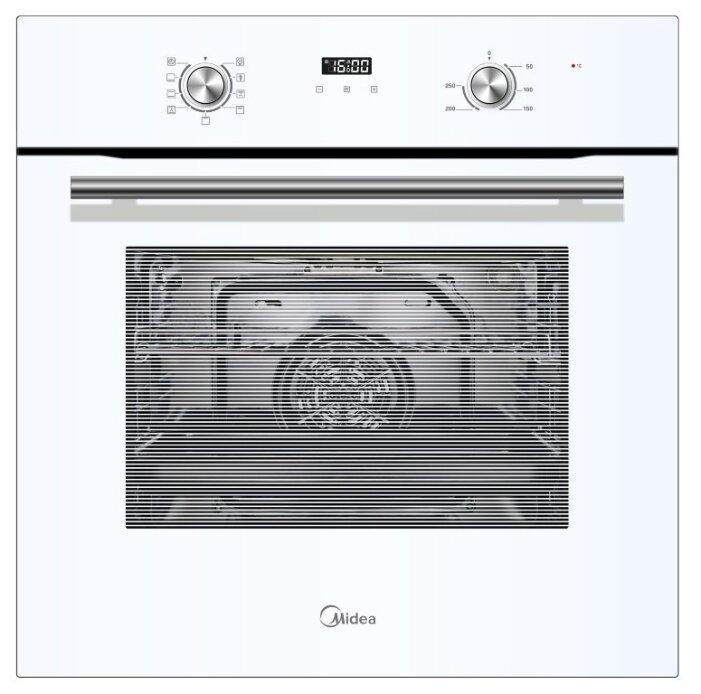 Духовой шкаф Midea MO68100GW белый