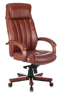 Кресло офисное Бюрократ T-9922WALNUT коричневый