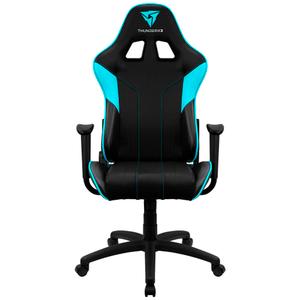Кресло игровое ThunderX3 Black-Cyan EC3 AIR черный