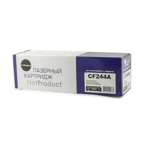 Картридж NetProduct N-CF244A черный