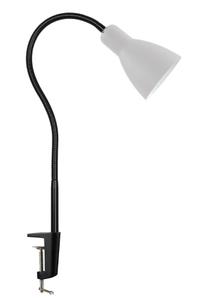 Светильник настольный на струбцине Artstyle HT-701W (E27 60W max) white