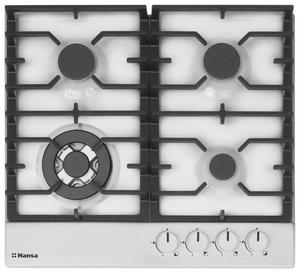 Газовая варочная панель Hansa BHGW611391 белый