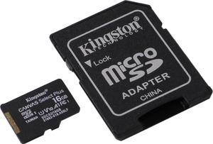 Карта памяти Kingston SDCS2/16GB 16 Гб