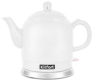 Чайник электрический Kitfort КТ-691-1 белый