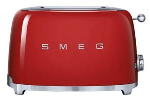 Тостер SMEG TSF01RDEU красный