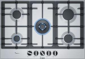 Газовая варочная панель Bosch PCQ7A5B90 серый