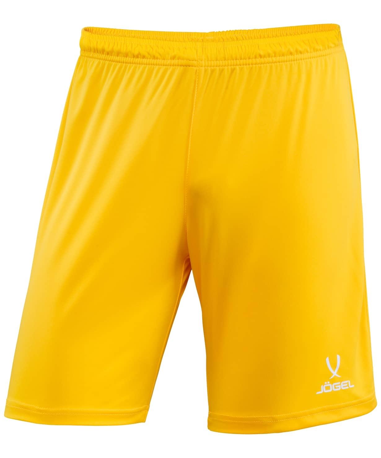 Шорты футбольные CAMP JFS-1120-041-K, желтый/белый, детские