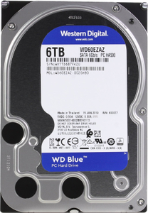 Жесткий диск Western Digital [WD60EZAZ] Blue 6 Тб