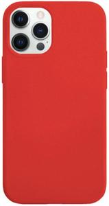 Чехол защитный «vlp» Silicone Сase для iPhone 12/12 Pro, красный