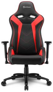 Кресло игровое Sharkoon Elbrus 3 красный