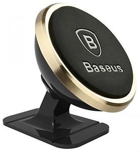 Baseus автодержатель 360-degree Rotation Magnetic (Paste type) Luxury Gold
