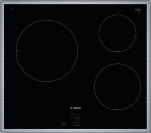 Индукционная варочная поверхность Bosch PUC64RAA5E серебристый