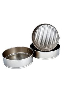 Набор разъемных форм для выпечки GREENBERG, в компл 3шт, круглые (24см, 26см, 28см) Бежевый