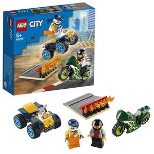 Конструктор lego city команда каскадёров 60255