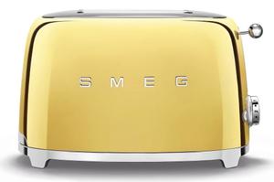 Тостер SMEG TSF01GOEU золото