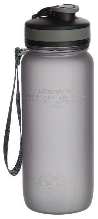 Бутылка UZSPACE Colorful Frosted 3030 0.65 л grey