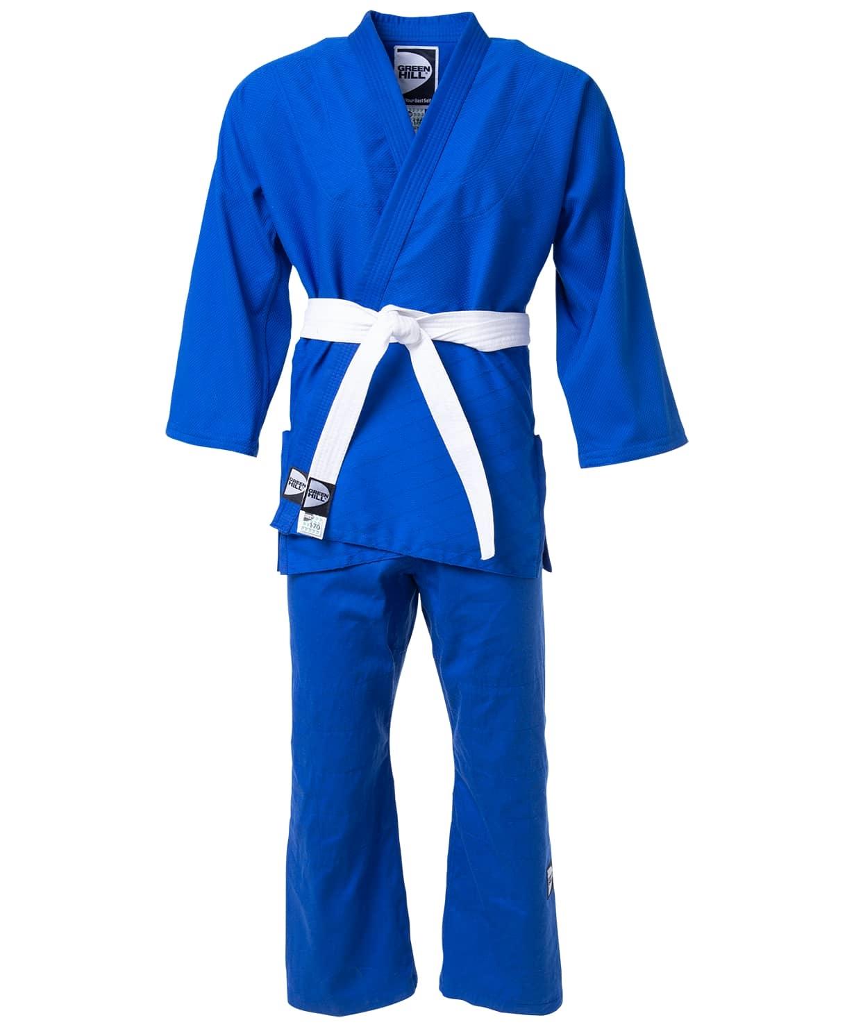 Кимоно для дзюдо JSST-10572, синий, р.000/110
