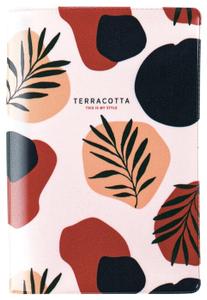 """Обложка для паспорта MESHU """"Terracotta"""", ПВХ, 2 кармана"""
