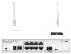 Wi-Fi роутер MikroTik CRS109-8G-1S-2HnD-IN