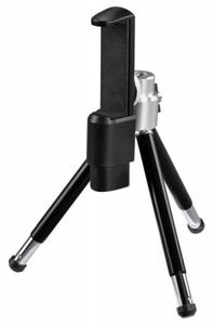 Штатив карманный Hama SmartPhone 4104 настольный черный металл (111гр.)