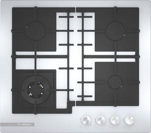 Газовая варочная панель Bosch PNH6B2O92R белый
