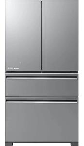 Холодильник Mitsubishi MR-LXR68EM-GSL-R серебристый