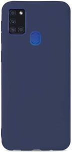 Клип-кейс Gresso коллекция Меридиан (для Samsung Galaxy A21S (2020) темносиний