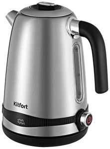 Чайник электрический Kitfort КТ-6121-5 серебристый