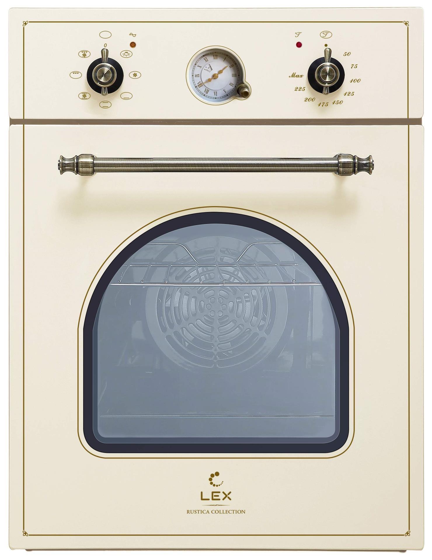 Духовой шкаф LEX EDM 4570C IV бежевый
