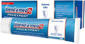 Зубная паста ProExpert Крепкие зубы Тонизирующая мята 100мл BLEND-A-MED