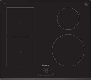 Индукционная варочная поверхность Bosch PWP63RBB6E черный