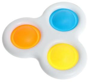 Сенсорная развивающая игра Simple Dimple, тройная, ассорти