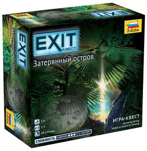 """Игровой набор Zvezda """"EXIT Квест. Затерянный остров"""""""
