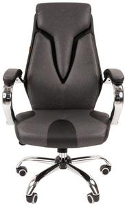 Кресло офисное Chairman 901 серый